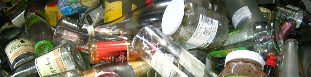 déchets verre
