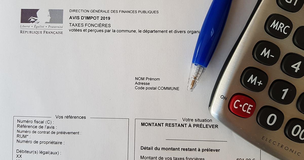 Taxe fonciere 2019
